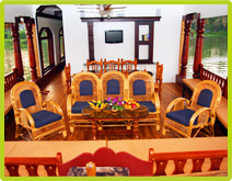 Large Conference Hall Houseboats in Alleppey