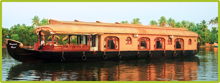 Kerala houseboat kerala houseboat tour houseboat tours for 01 bedroom ac deluxe houseboat